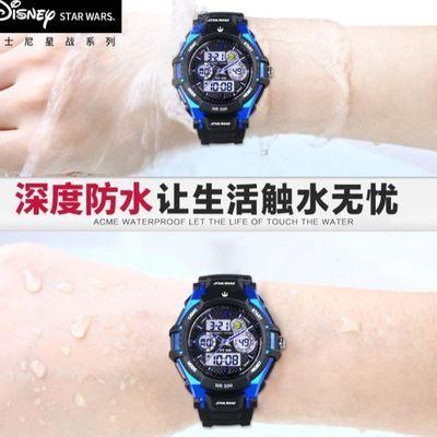 儿童手表男孩防水电子表运动小学生初中生高中潮流男童手表