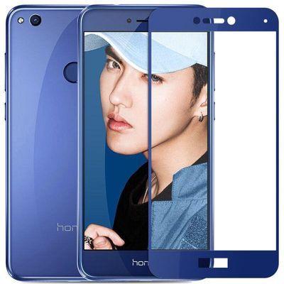 华为荣耀8钢化膜8青春版手机全屏覆盖honor八屏保全包边防摔贴膜