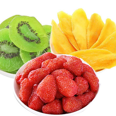 干果芒果干批发草莓干水果干猕猴桃干黄桃干果脯零食组合大礼包