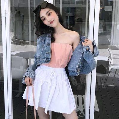 牛仔外套女2019春装新款韩版宽松蝙蝠袖学生短款港味上衣短外套女