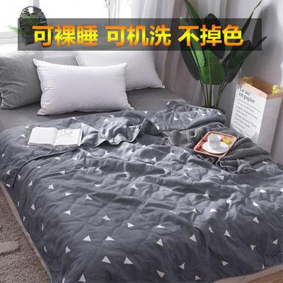 可机洗卡通儿童单人宿舍床上夏凉被双人加厚空调被芯学生夏天被子