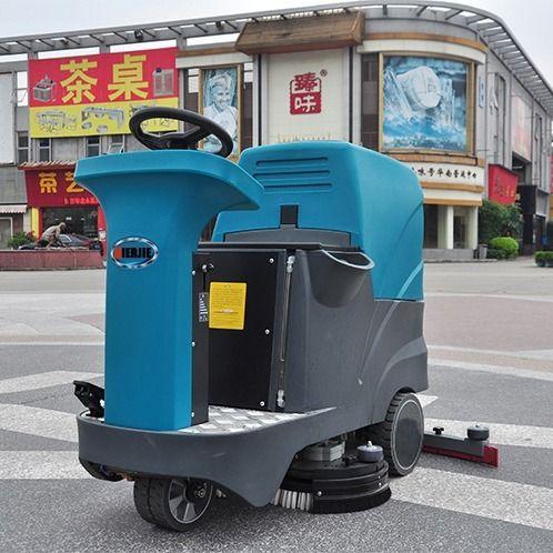 驾驶式洗地车工厂车间电动拖地机超市物业擦地机工业驾驶式洗地机
