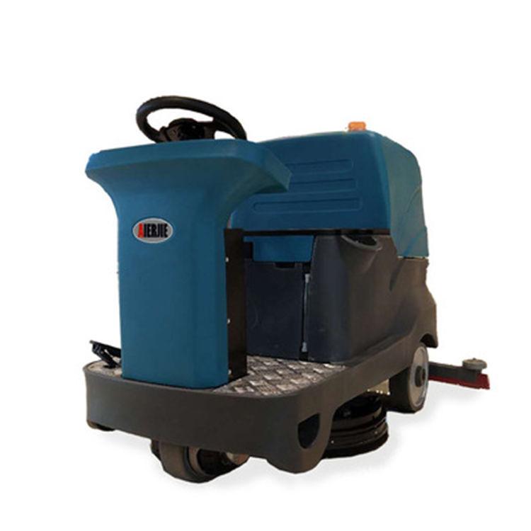 环卫物业驾驶式洗地车全自动驾驶式洗地机车间擦地机工业洗地机