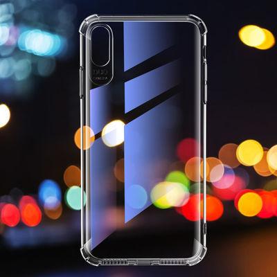 苹果xs max手机壳iPhoneX透明软硅胶气囊防摔抗震XR全包保护外壳