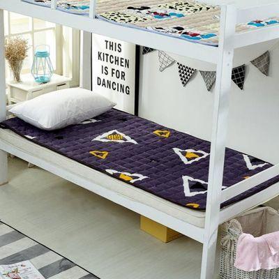 单人宿舍保暖床垫子榻榻米床垫双人家用睡垫