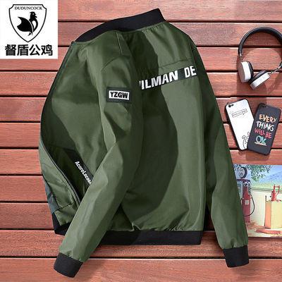 【督盾公鸡】春季新款男士青年夹克韩版潮流修身外套薄款棒球服