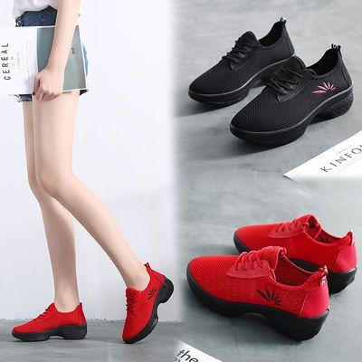 广场舞中老年大码女鞋春季非菊胡同跳舞鞋女士软底舞蹈鞋北京布鞋