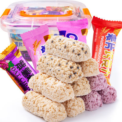 【两斤更实惠】正宗麦片巧克力燕麦巧克力零食低糖喜糖3斤-200g