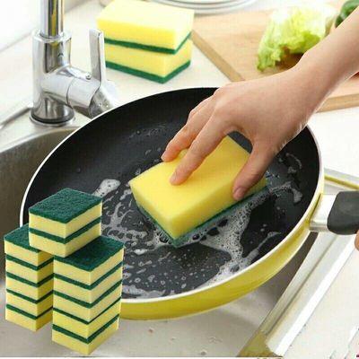 大号洗碗海绵擦百洁布清洁刷纳米魔力擦碗洗锅神器刷锅刷碗洗碗布