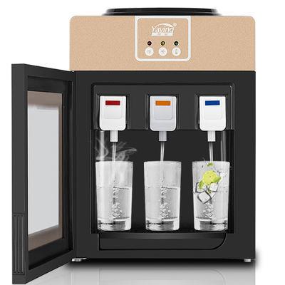 新款饮水机台式小型冷热家用节能冰温热立式全自动制冷放桶装水