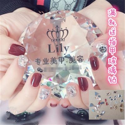 美甲工具拍照宣传装饰美甲店模特手视频展示拍摄道具水晶玻璃钻石