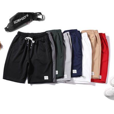短裤男五分裤潮流宽松薄款休闲5XL裤子大裤衩马裤弹力透气运动裤
