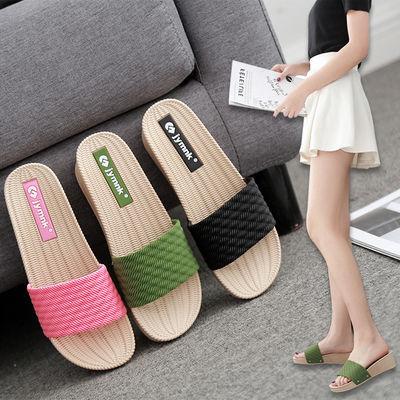 高跟拖鞋女夏2020海边时尚外穿坡跟厚底网红增高凉拖沙滩鞋户外