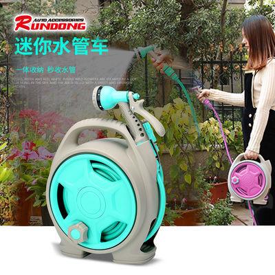 浇花神器水管车多功能喷头高压洗车水枪软管收纳花园浇花浇水套装