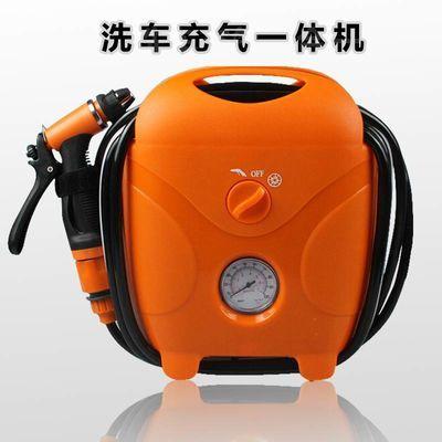 车载洗车神器12v高压便携220家用强力自吸水枪多功能充气泵一体机