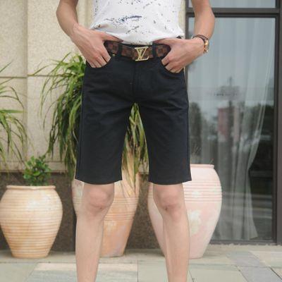 夏季新品男士五分裤青年休闲短裤中腰宽松直筒潮流马裤户外工装裤
