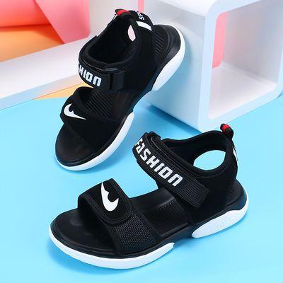 男童凉鞋2020新款韩版夏季爆款中童小童露趾潮小男孩凉鞋子4-12岁