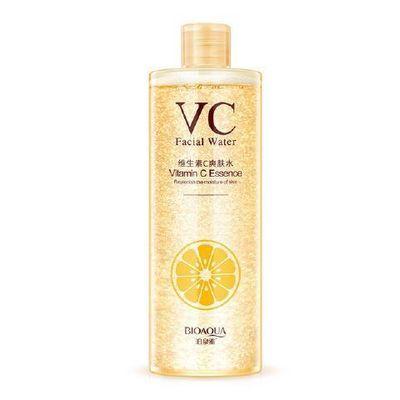 正品女士VC爽肤水 维生素vc补水滋润收缩毛孔控油保湿水柔肤水
