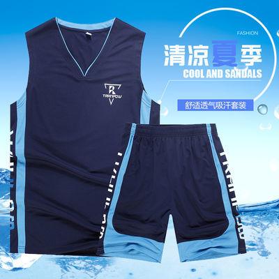 篮球服套装男夏季速干球衣学生比赛队服训练服定制大码运动跑步服