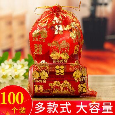 (10-100个)喜糖袋纱袋结婚庆用品喜糖袋子婚礼包装袋装喜糖的袋子