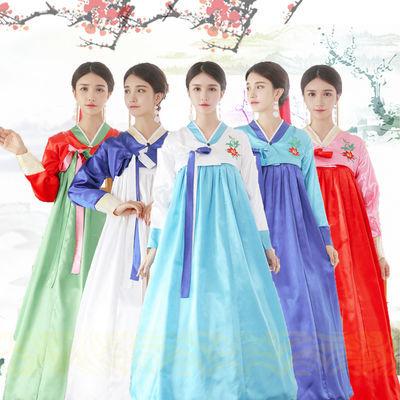 2018新款韩服表演服饰女宫廷传统舞蹈服装民族古装成人朝鲜族服装