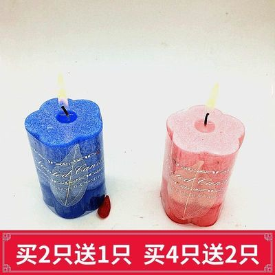 买2送1蜡烛浪漫香薰柱蜡生日派对无烟熏香欧式香氛蜡烛家用批发