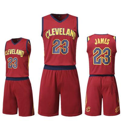 夏季篮球服套装男NBA成人儿童篮球服套装库里哈登詹姆斯球衣