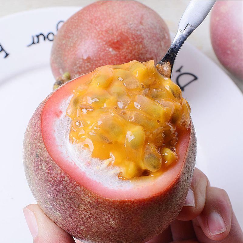 【送开果器】广西百香果5斤装大果新鲜水果酸甜多汁整箱批发包邮_4