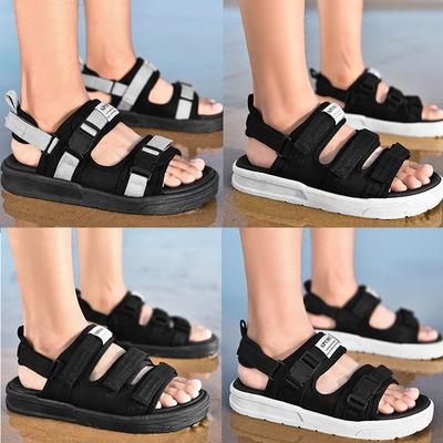 男士凉鞋夏季拖鞋男时尚沙滩两用情侣一字拖外穿人字越南凉拖鞋潮