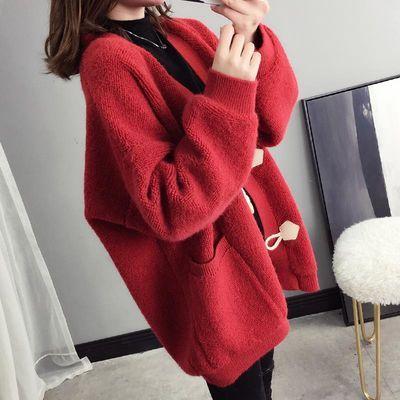 网红毛衣女开衫外套春秋装2020新款很仙的针织衫上衣宽松慵懒风