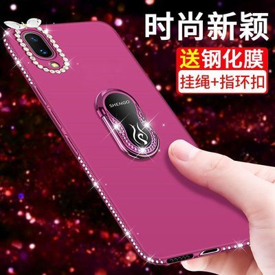 vivox27手机壳女款x23网红炫彩版时尚x27保护套镶钻新款x23炫彩版
