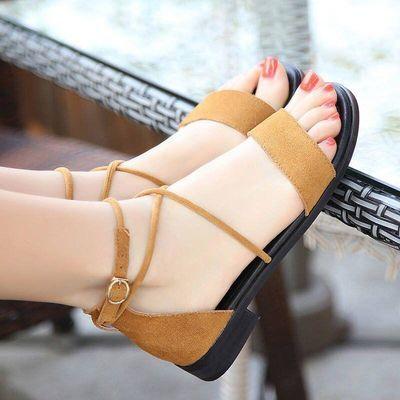 2020新款儿童罗马鞋女童宝宝平底公主凉鞋韩版学生鞋时尚亲子鞋