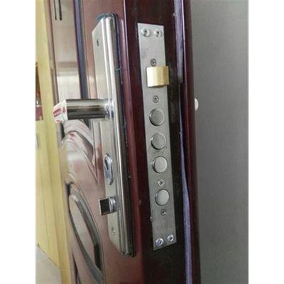 家用门锁防盗门拉手套装全铜锁芯锁体加厚把手通用型大门入户门锁