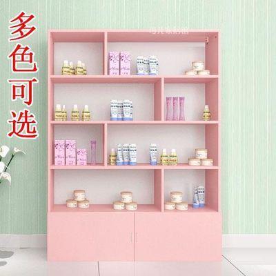 大容多功能展示柜双面货柜架化妆品展柜货架美容院成品靠墙展架