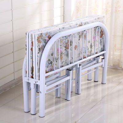 折叠床单人床木板床铁床双人床午休床行军简易床铺儿童成人家用床