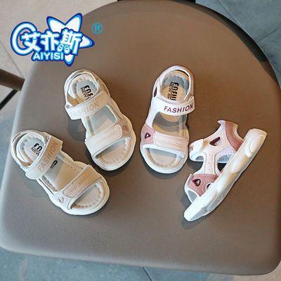 2020夏季新款男童女童学生凉鞋韩版小女孩儿童小熊鞋宝宝公主凉鞋