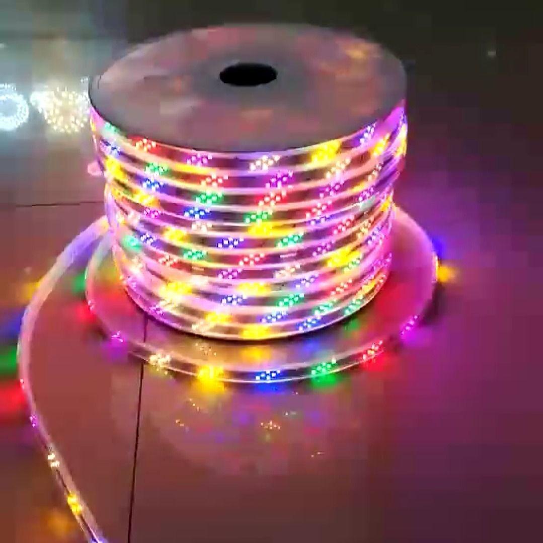 灯带led七彩变色户外防水彩灯带广告牌跑马流水闪光灯条彩色KTV的细节图片4