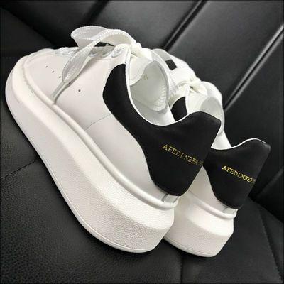 麦昆小白鞋女厚底2020春季新款韩版内增高运动休闲舒适百搭板鞋女