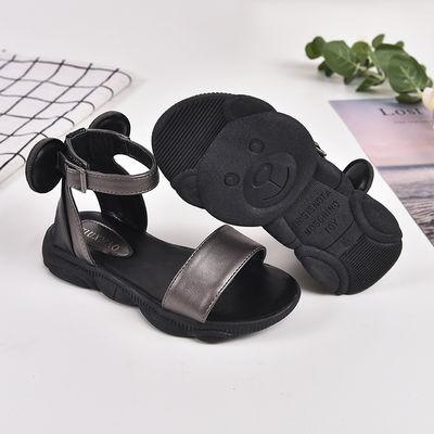 女童凉鞋韩版2020夏季新款时尚儿童公主凉鞋平底中大童女学生凉鞋