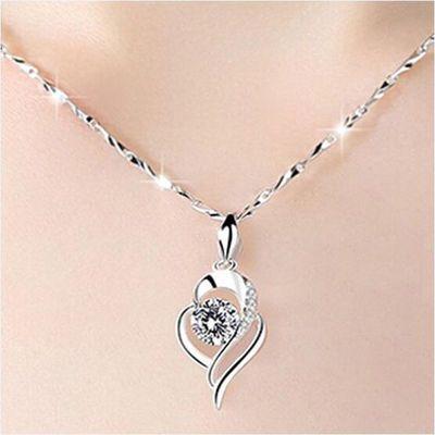 (可调节)超多款式项链饰品 925项链女锁骨链送女友老婆生日礼物