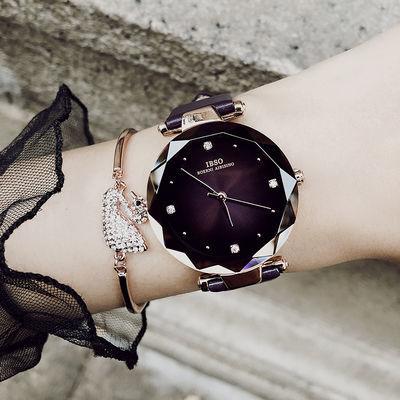爱彼思诺日本机芯手表女学生韩版简约防水抖音同款手表女石英表女