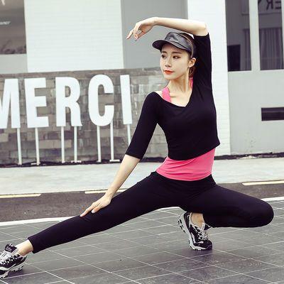 17816/瑜伽服运动套装女速干显瘦春夏新款专业健身服网红瑜珈服初学者