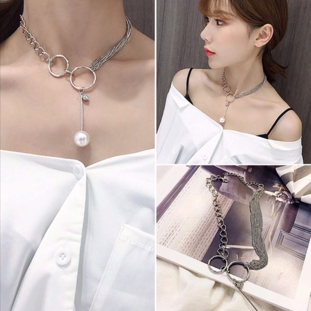 便宜的项链女项链锁骨链女脖子饰品脖子项链女女生锁骨链锁骨项链女颈链