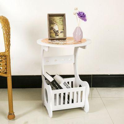欧式阳台方桌茶几卧室床头柜小桌子小圆桌圆形咖啡桌客厅沙发边几