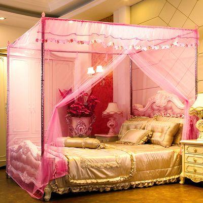 大学生宿舍上下铺新款简约韩式蚊帐带床帘一体式用双层遮光防尘