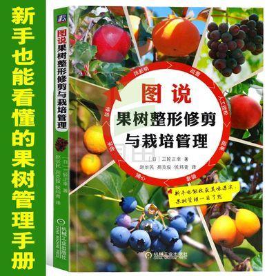 图说果树整形修剪与栽培管理 果树栽培管理技术种苗育苗嫁接书籍