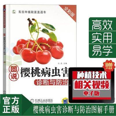 图说樱桃病虫害防治与诊断 樱桃高效栽培关键技术果园管理书籍