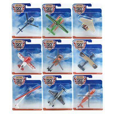 MATCHBOX火柴盒城市英雄 直升飞机客机战斗机航天飞机合金小玩具