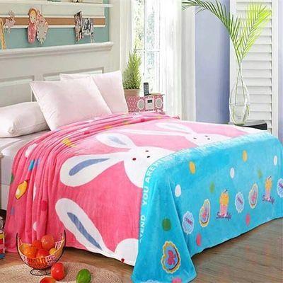 酒店被子一次性床单防水车载抱枕可爱任嘉伦珊瑚绒毛巾卡通春季毯