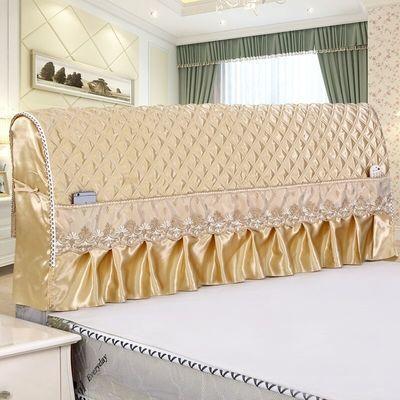 床头罩三件套沙发全包木ins取暖炉电烤半圆软靠垫防尘皮柜欧式